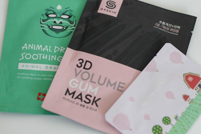 Les masques en tissu