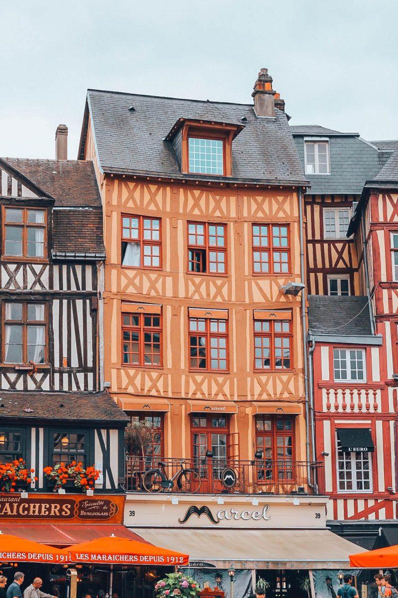 Maisons à colombage à Rouen