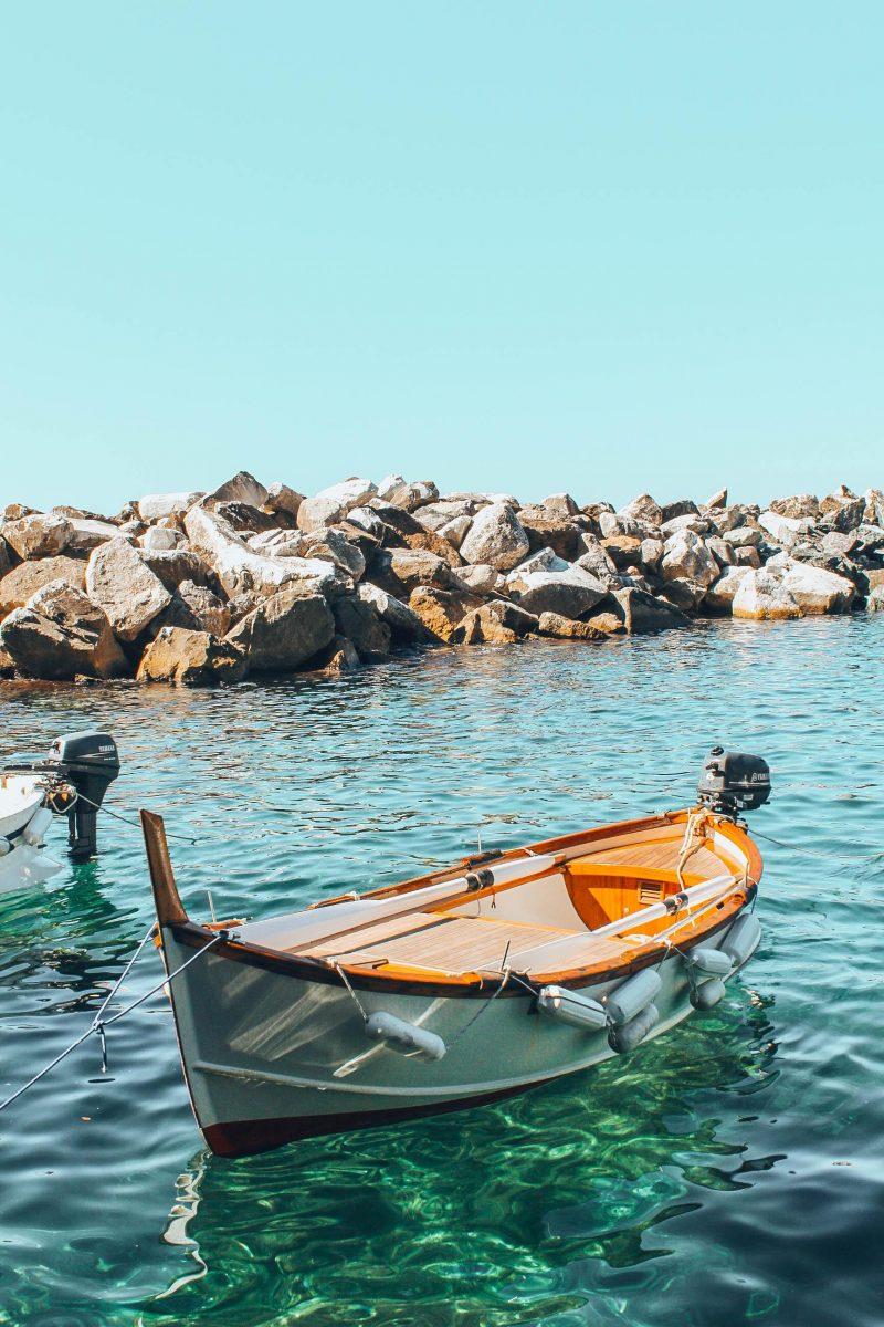 Bord de mer de Manarola