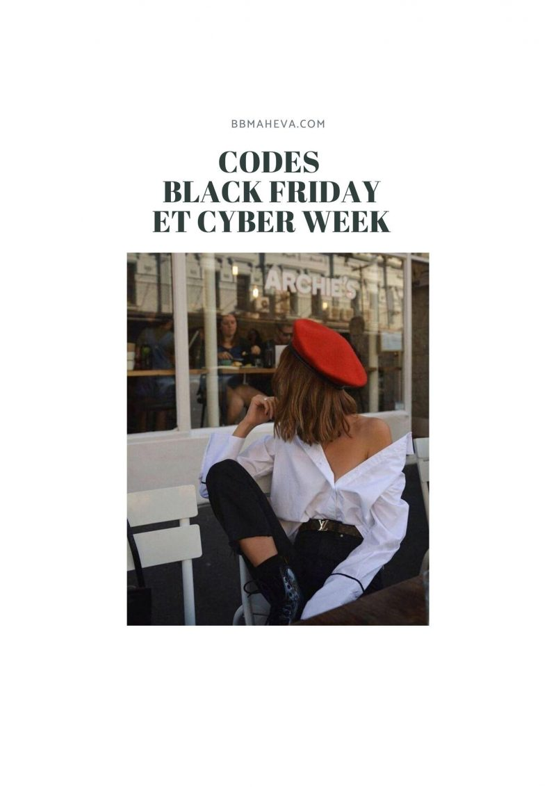CODE PROMO BLACK FRIDAY