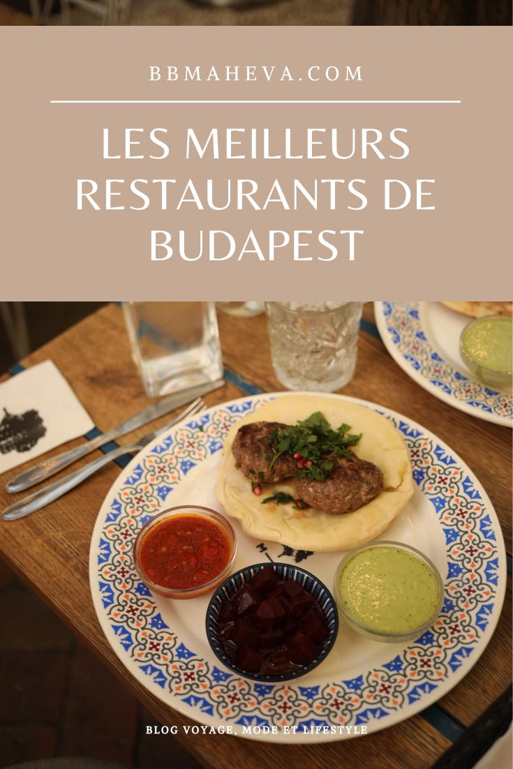restaurants budapest
