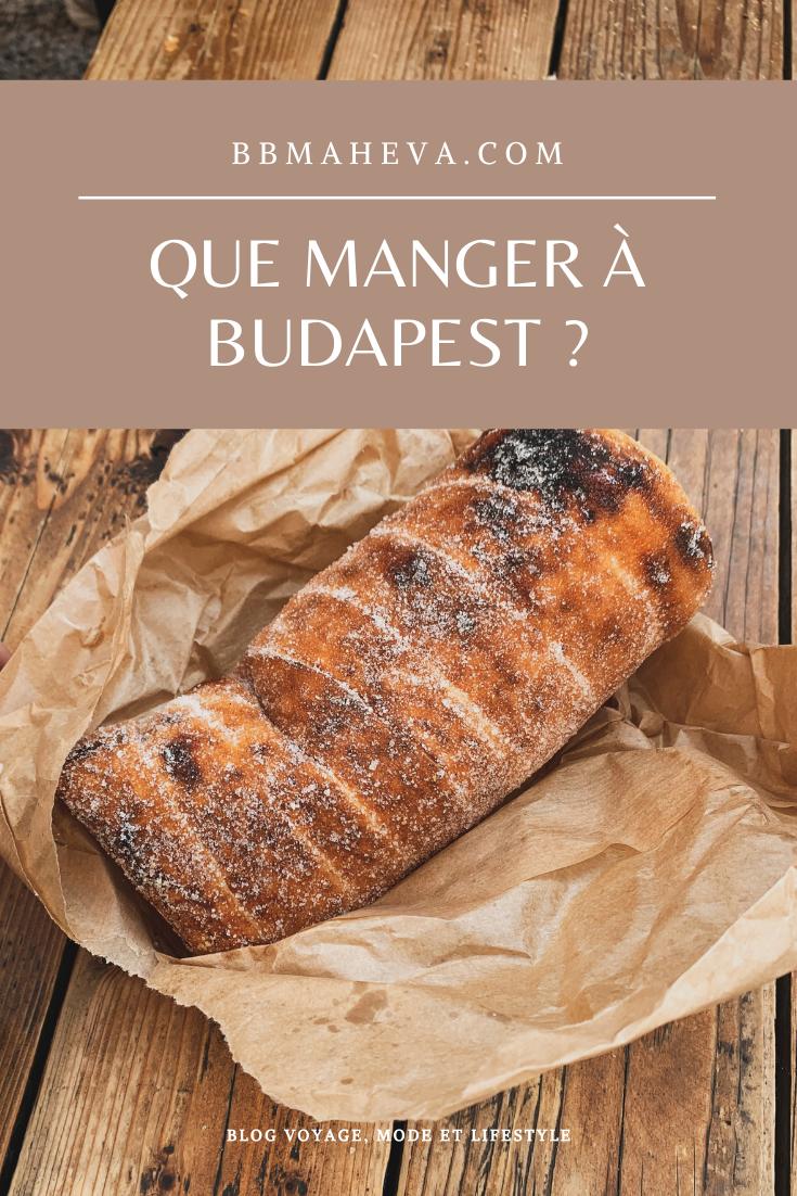 specialités budapest