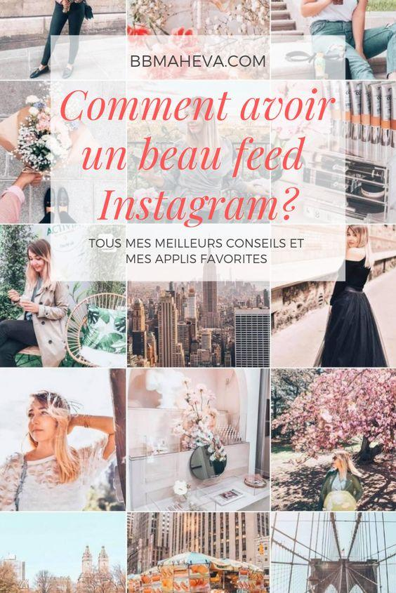 Comment avoir un beau feed Instagram ?