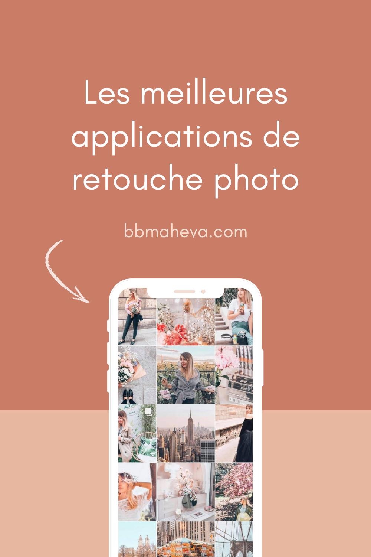 les meilleures applications de retouche photo